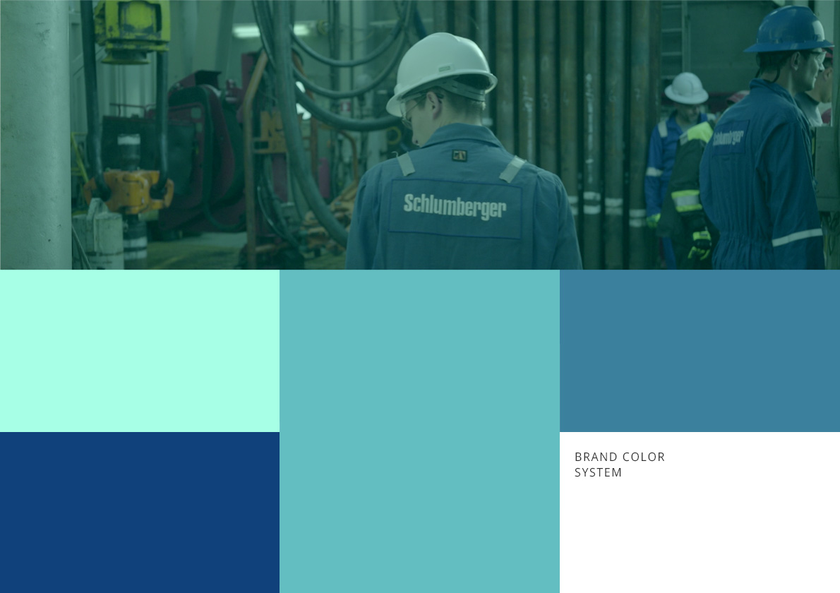 brand color system Ital Gas Storage